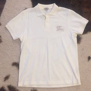 Burberry polo shirt with logo